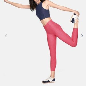 Outdoor Voices Warm Up 7/8 Leggings Flamingo Pink